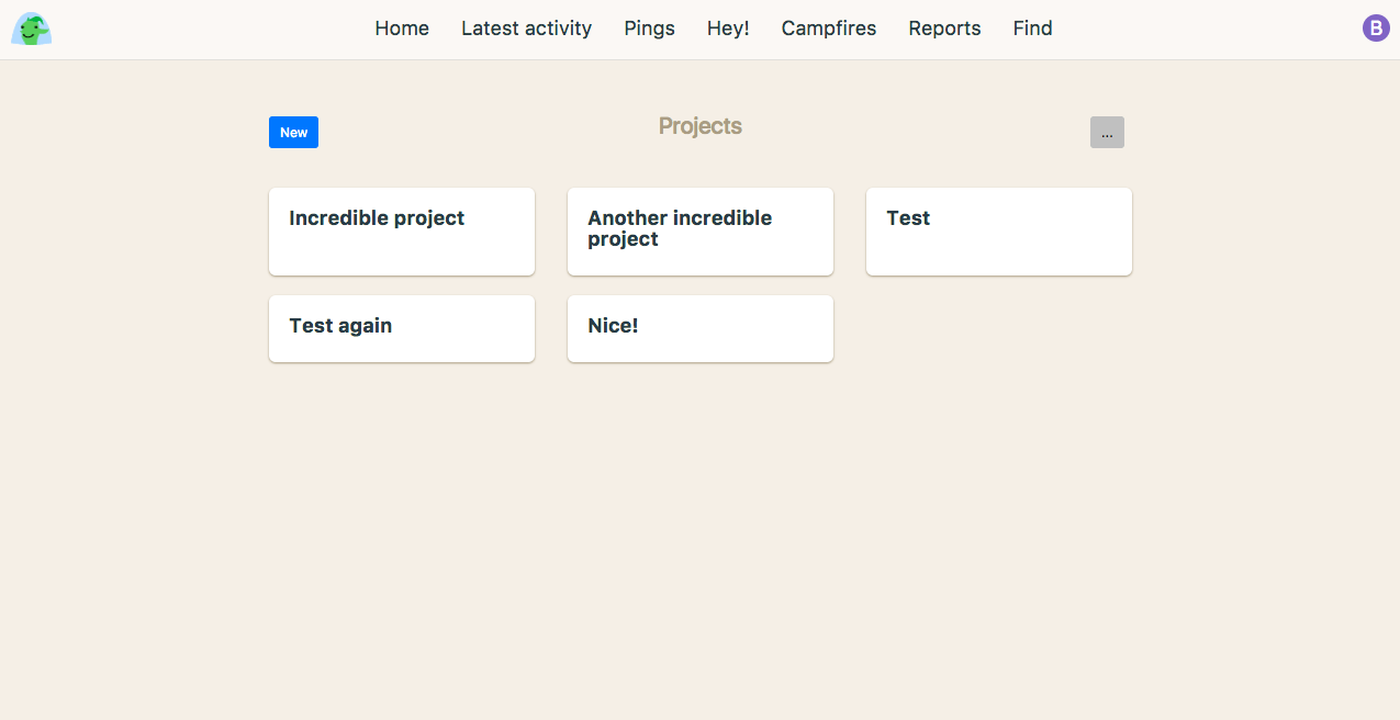 Working Projects
